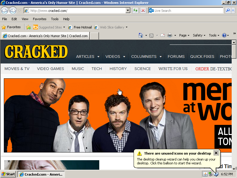 January 2014 Cracked.com DDL