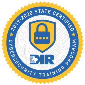 Texas Department of Information Resources Cybersecurity Training