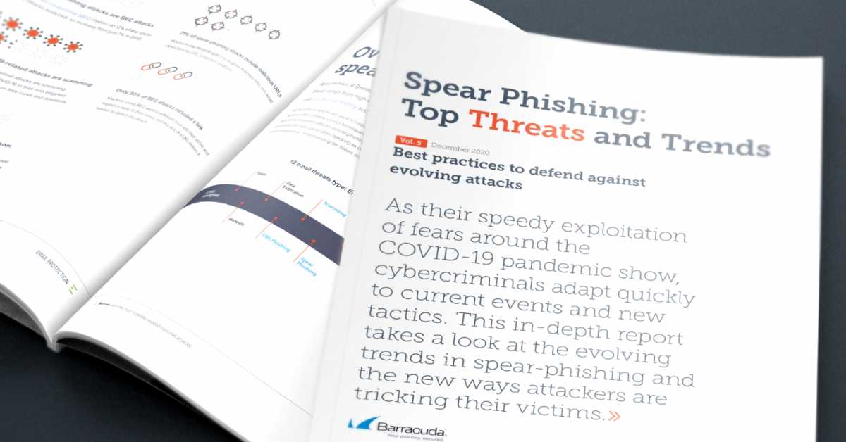 tendances de spear phishing